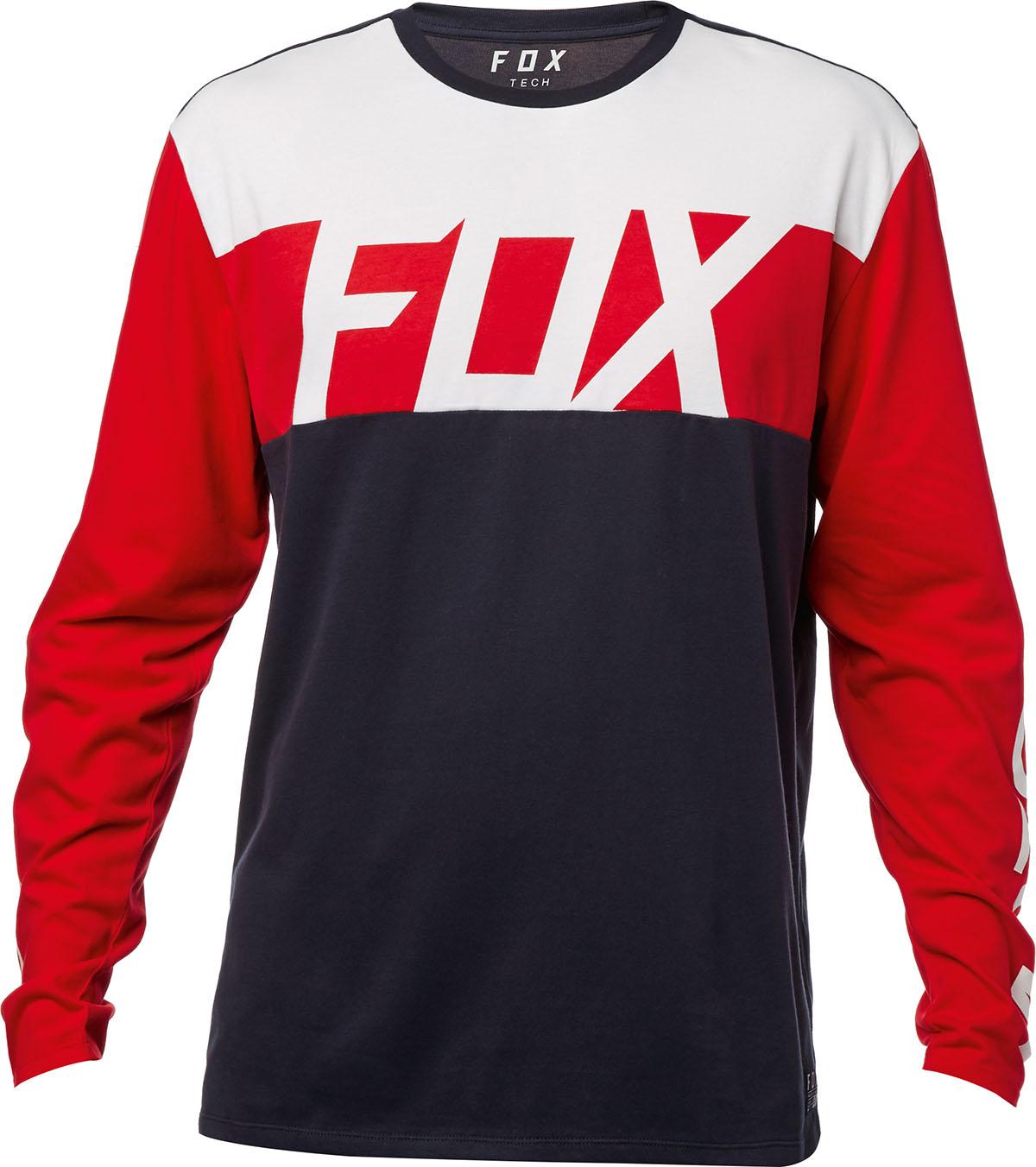 Fox hosszúujjú póló Scramblur Airline
