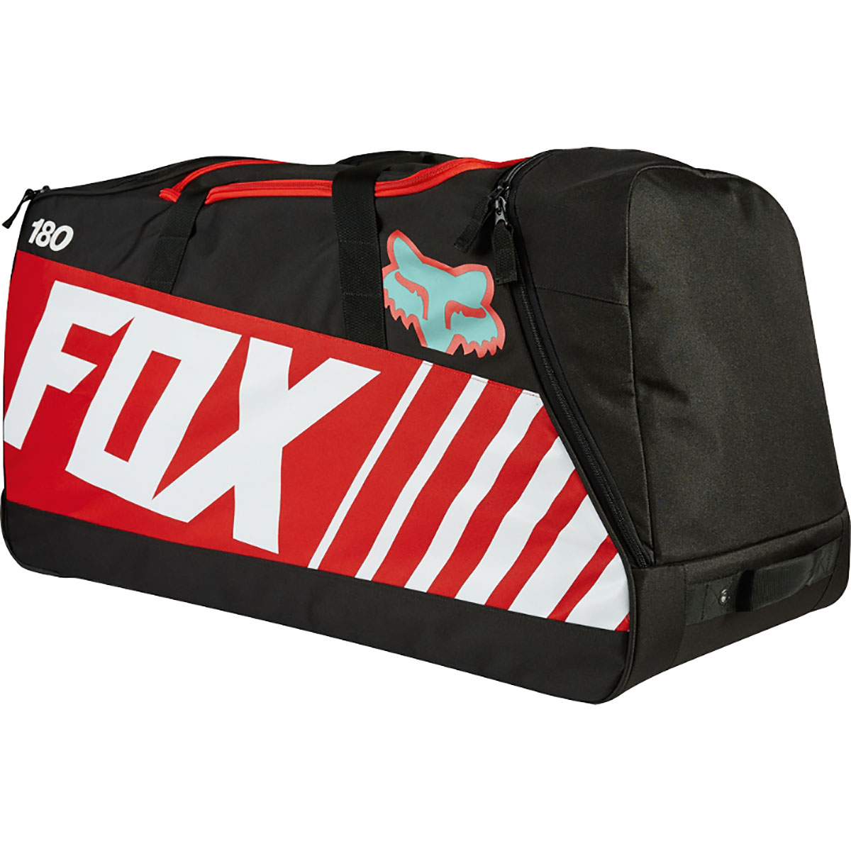 Fox cross motoros utazótáska 180 Creo Shuttle Gearbag Roller Sayak Red
