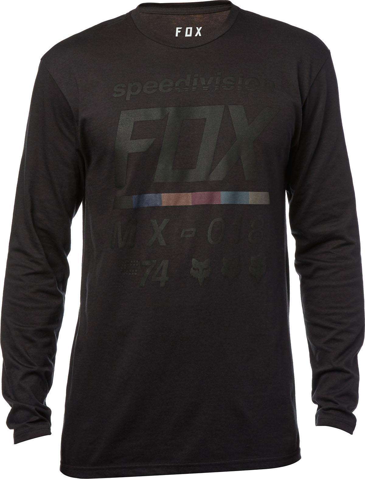 Fox hosszúujjú póló Draftr Tech
