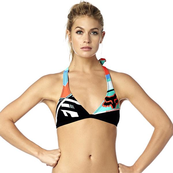 Fox nõi bikini felsõ Divizion Fixed Halter multicolor