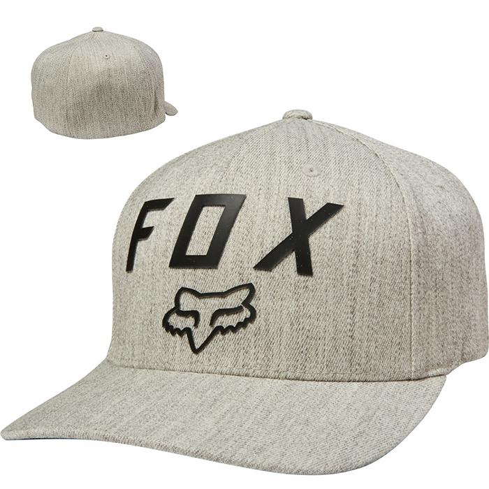 6c834c1126 Fox baseballsapka Flexfit Number 2 világosszürke