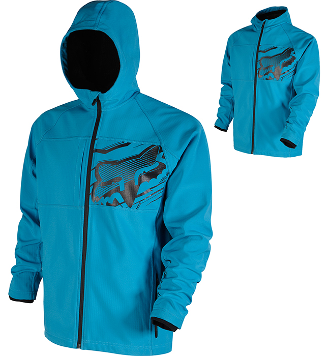 Fox dzseki Breakaway Soft Shell kék S-es