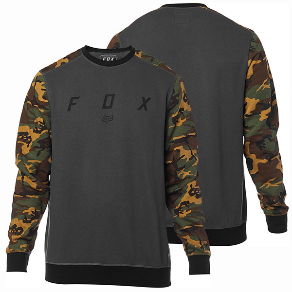 ca1fc24113 Fox pulóver Destrakt Crew