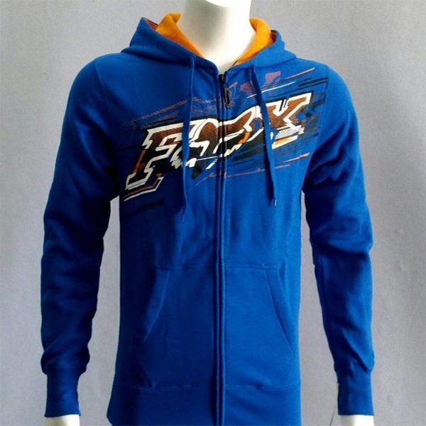 Fox Flash Front Fleece pulóver XL