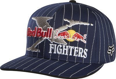 Fox baseballsapka Flexfit Red Bull X-Fighters Core