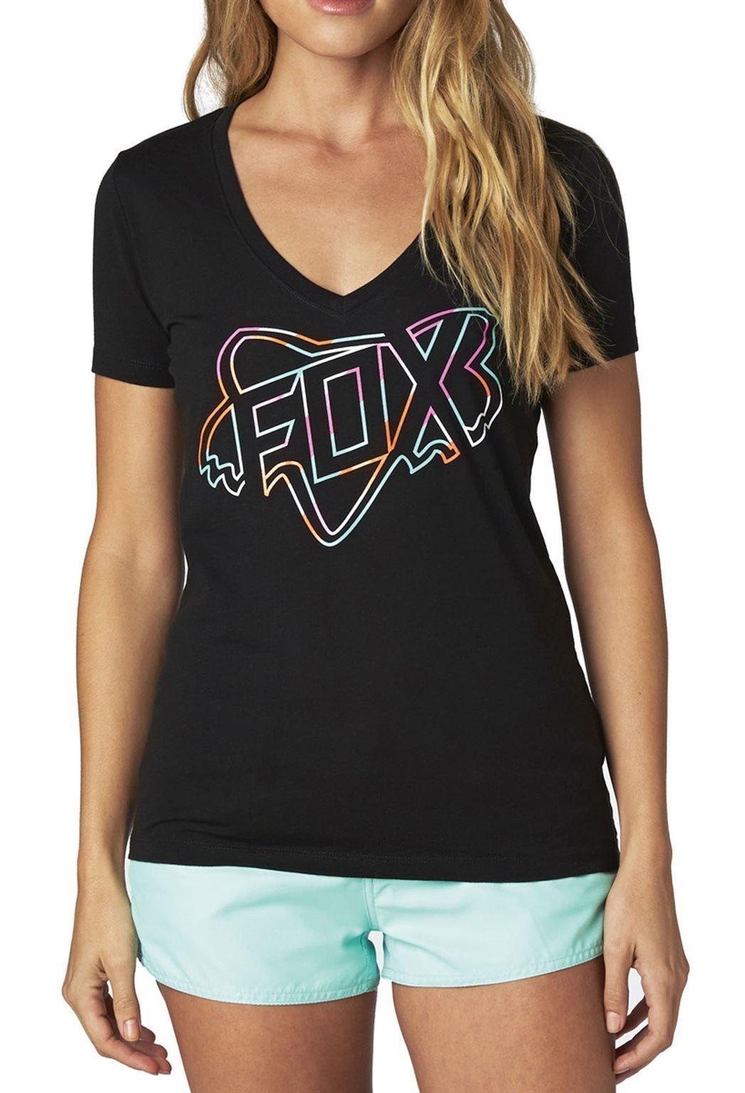 Fox nõi póló Configuration V-nyakú