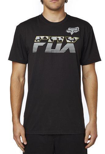 Fox póló Mako Tech fekete