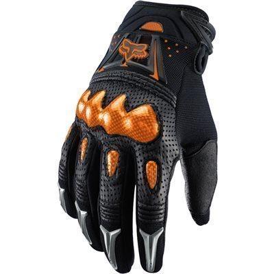 Fox kesztyû Bomber fekete-orange