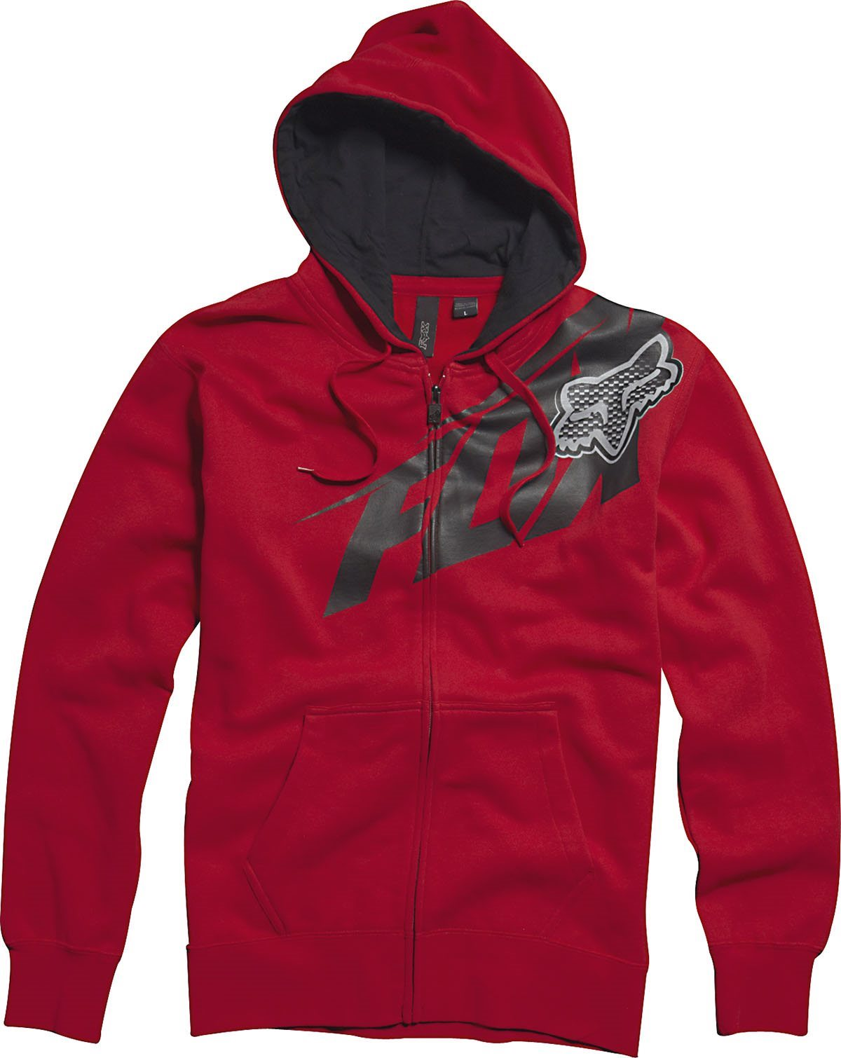 Fox pulóver Superfast piros