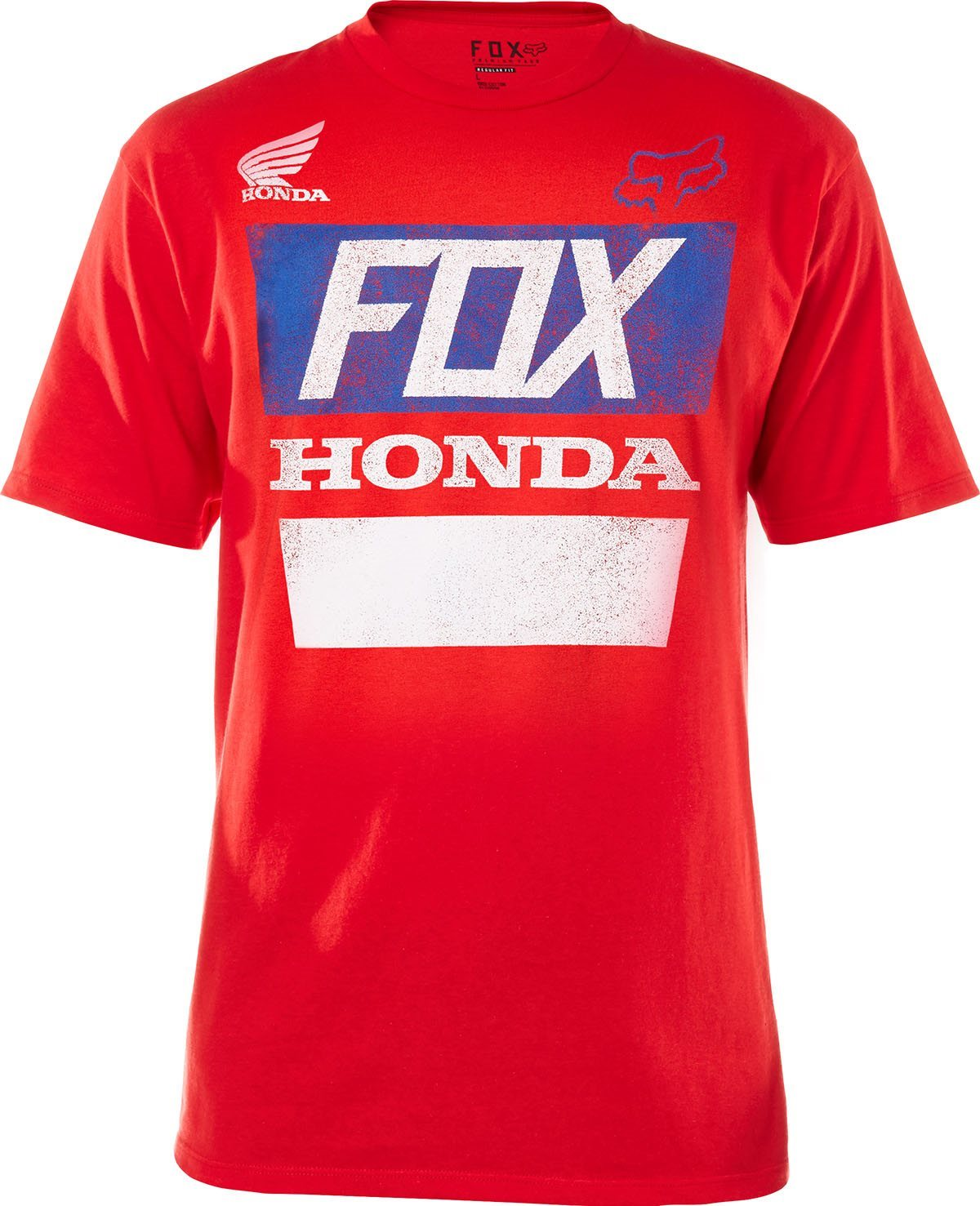 Fox póló Honda Distressed
