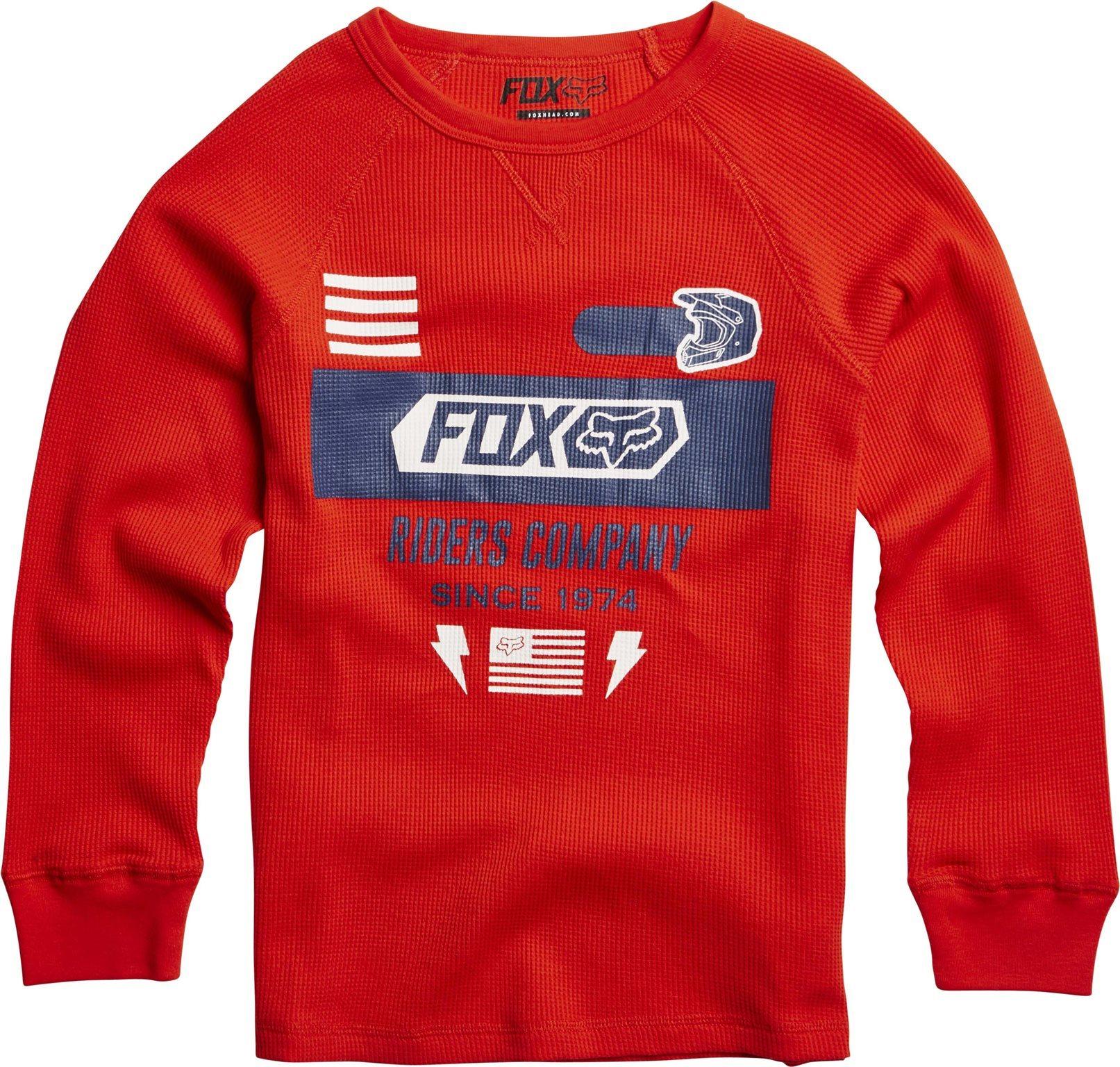 Fox gyerek hosszúujjú póló Kanopolis Thermal