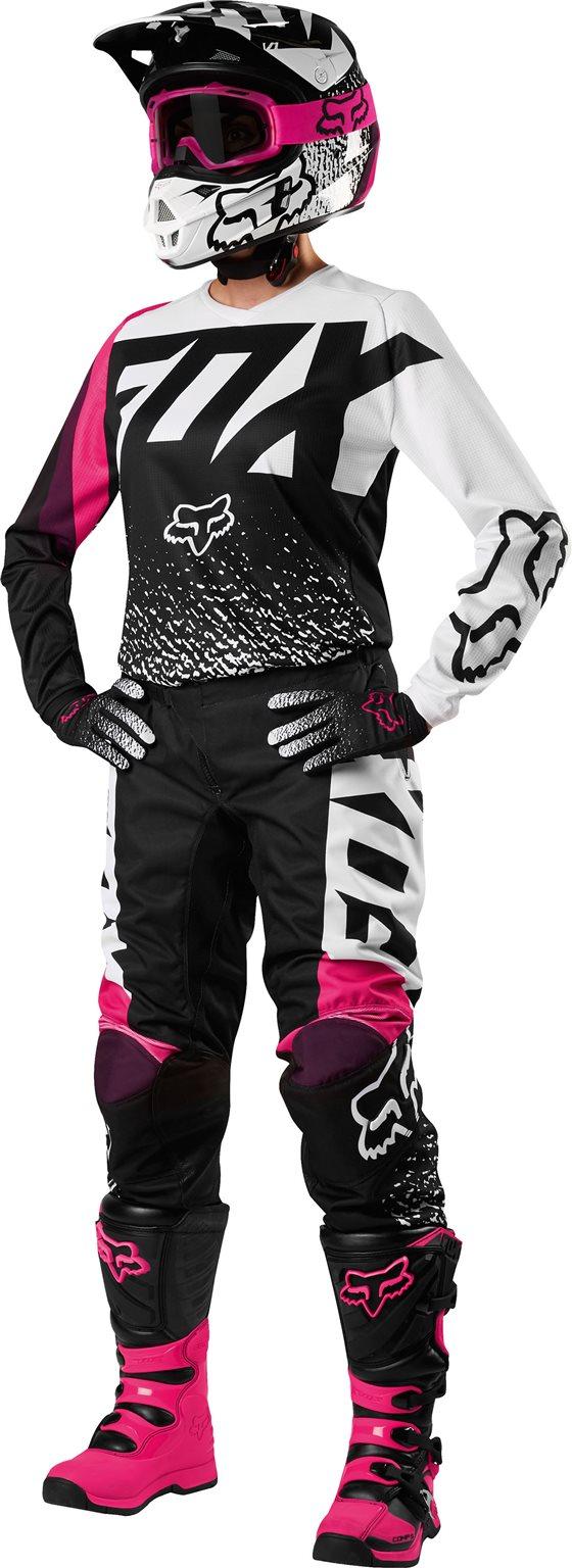 bdab725ec3 Fox női cross nadrág 180 Race fekete-pink