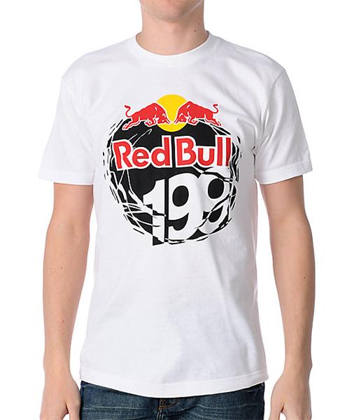Fox póló Red Bull Travis Pastrana 199 fehér